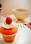 *簡単カップケーキ*  アレンジ自由♪