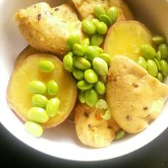 *さつま芋とがんもの含め煮*