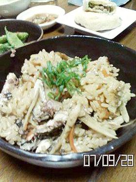 美味しい秋見付けた★秋刀魚の炊き込みご飯