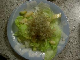 大根とジャコの居酒屋風サラダ