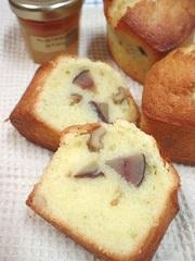 しっとり♪和栗のマロンケーキの写真