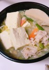 もやし白菜豆腐とりわけ鍋
