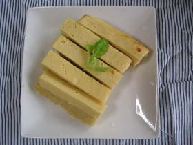 レンジとミキサーでスイートポテトチーズ