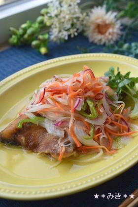 野菜たっぷり★鯖の南蛮漬け