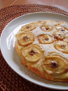 母の味☆しっとりバナナケーキ