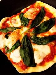【発酵不要!オーブン不要!】自家製ピザの写真