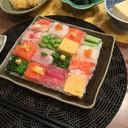 おもてなし♡簡単で楽しいモザイク寿司