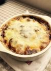 ハヤシで。デミグラスソース風チーズ焼き