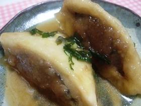 肉詰め高野豆腐のフックラ煮