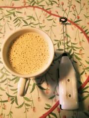 ダイエットさんのココナッツオイル豆乳ラテの写真