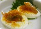 *ポリポリカレーのゆで卵*