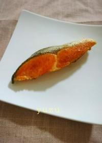 作りおきに簡単&便利♪鮭の塩焼き