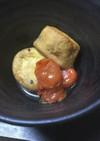 ガンモとミニトマトの煮物