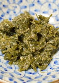 アカモク(ギバサ)の酢味噌和え
