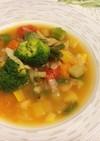 食べるスープ、スパイスでバンチが効く無塩