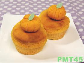 豆腐かぼちゃマフィン