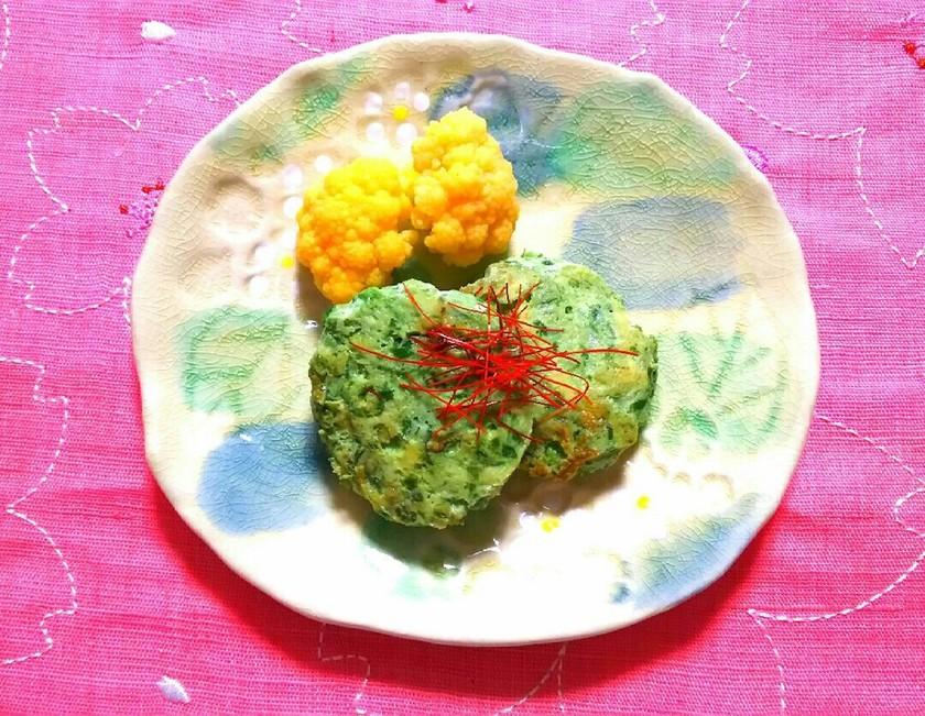 低糖質レシピ☆お野菜たっぷりハンバーグ