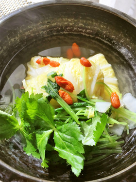 【ホシサン白だし】レンコ鯛の白菜包み♪