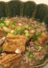 煎酒で簡単!厚揚げと豚挽き肉旨煮餡