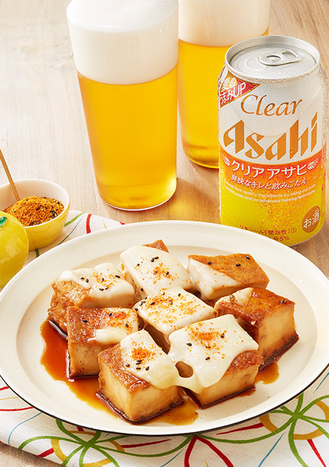 コロコロ厚揚げチーズ七味
