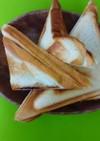 チョコマシュマロ ホットサンド