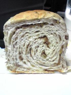 栗あんのぐるぐる湯だねパン