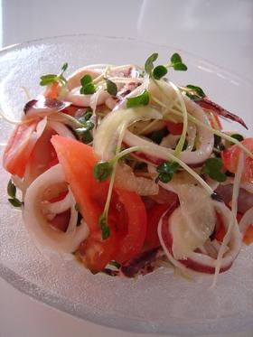 いかと野菜のマリネ風♥サラダ