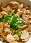 鶏ささみと もやしきのこ❃にんにく甘酢煮