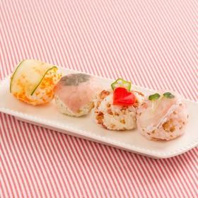 モッツァレラの手まり寿司