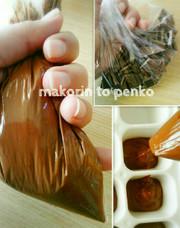 ホワイトデー*洗い物無しのチョコ作り裏技の写真
