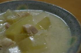 冬瓜のクリーム煮