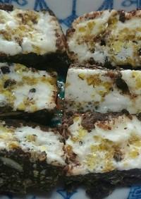 栗とマシュマロのチョコクランチ