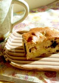 バナナとオレオクッキーのケーキ
