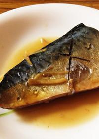 鯖のしょうが煮