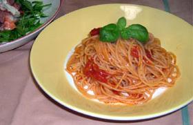 アンチョビのトマトソーススパゲティ