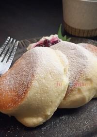 幸せのパンケーキ風♪ふわふわパンケーキ♡
