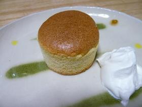 シフォン風ふわふわカップケーキ
