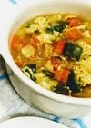 春雨の食べるスープ