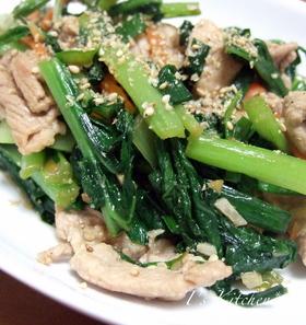 ごはんがすすむ~★豚肉と野菜の炒め物