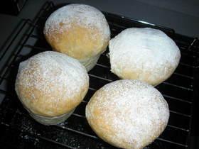 簡単手間なし!シンプルハチミツ白パン