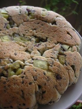 ホットケーキミックスで薩摩芋ロールパン