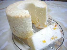 卵白消費☆白いシフォンケーキ