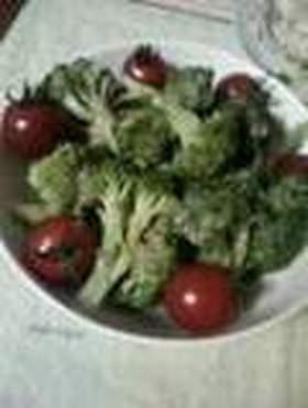 簡単ブロッコリーサラダ