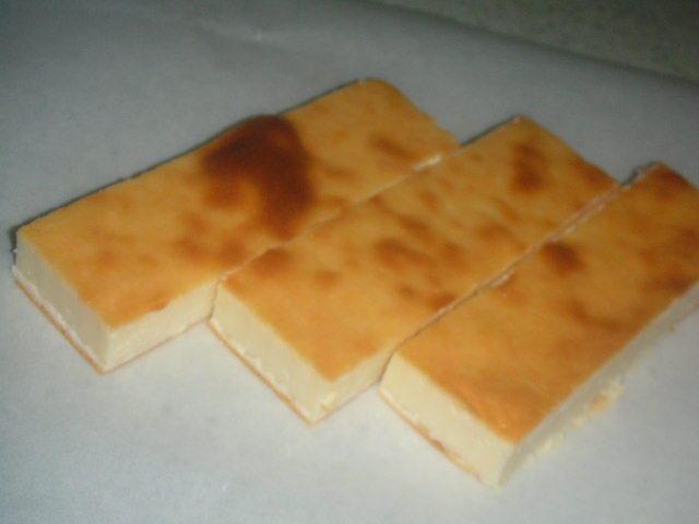 混ぜるだけ簡単スティックチーズケーキ