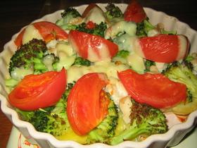 鶏肉の温野菜