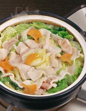 豚と白菜の蒸し鍋