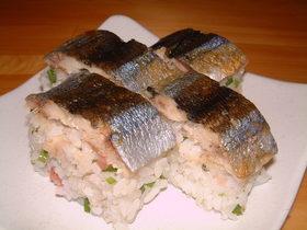 なんちゃってさんま寿司