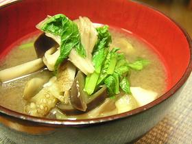 秋野菜のお味噌汁