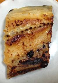サゴシ(サワラ)の味噌粕漬け