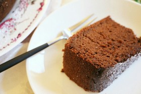 【簡単】炊飯器でしっとり♪ガトーショコラ